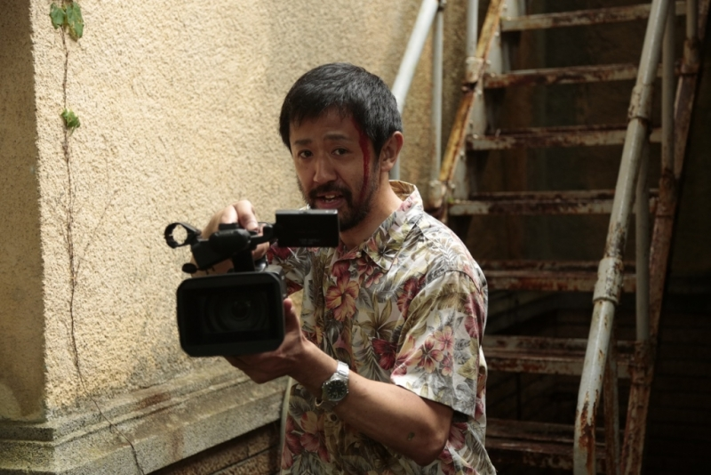"Kadrs no filmas ""One Cut of the Dead"""