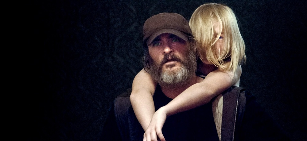 "Kadrs no Linnas Remzijas filmas ""You Were Never Really Here"". Foto: WhyNot Productions"